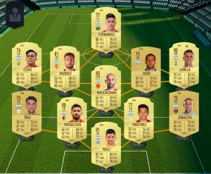 fifa 20 ultimate team coin kasma arjantin kadrosu