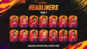 fifa 20 ultimate team headliners kartları