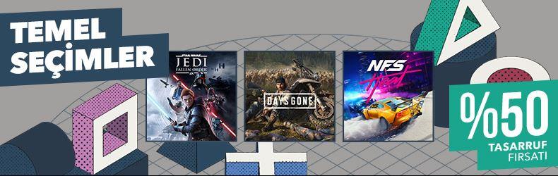 PlayStation Store Temel Seçimler İndirimleri Başladı!