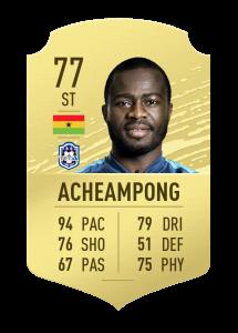 fifa20 En Hızlı Oyuncular acheampong