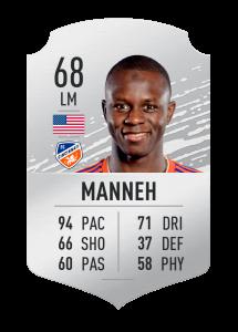 fifa20 En Hızlı Oyuncular Manneh