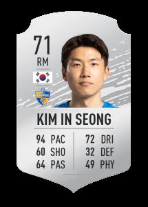 fifa20 En Hızlı Oyuncular seong