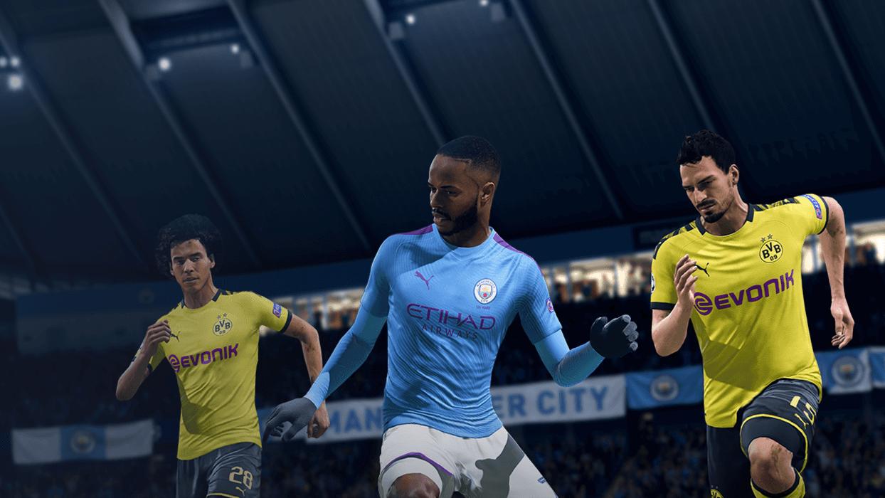 Premier League Oyuncularının Maçları FIFA 20''de olacak Sterling