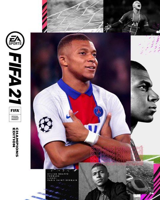 """FIFA 21'in Kapak Yüzü Belli Oldu! """"Kylian Mbappe"""" 2"""
