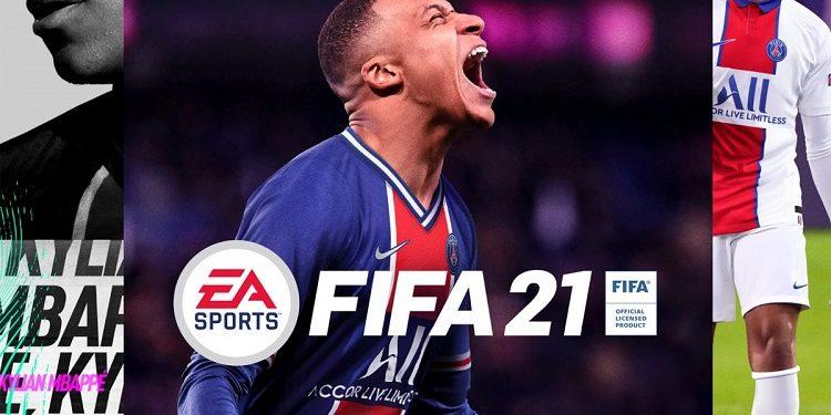"FIFA 21'in Kapak Yüzü Belli Oldu! ""Kylian Mbappe"" kapak"