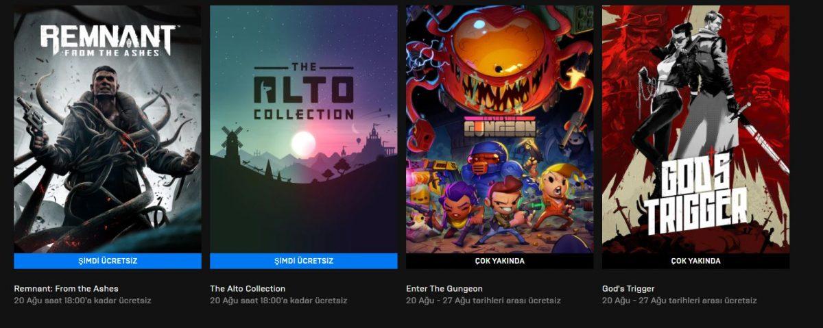 Epic Games'in Yeni Ücretsiz Oyunu Belli Oldu! (20 Ağustos)