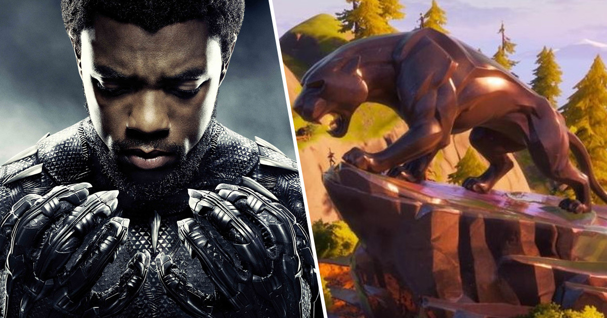 Fortnite'a Black Panther Heykeli Geldi! -2