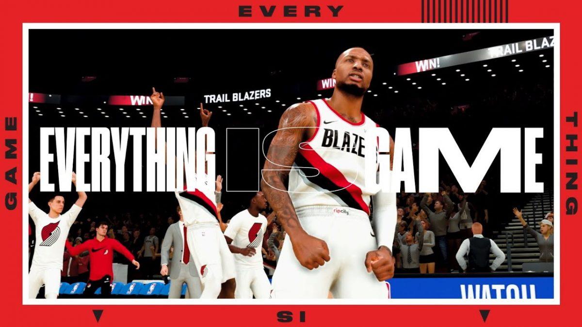 NBA 2K21 everyhing is game