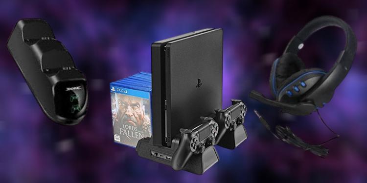 Uygun fiyatlı PS4 oyuncu aksesuarları: Dobe