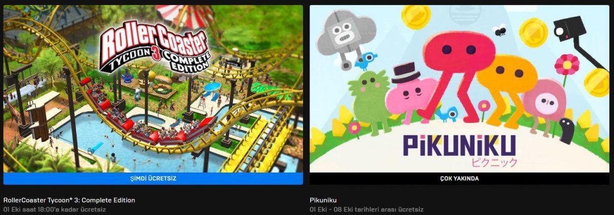 Epic Games'in Yeni Ücretsiz Oyunu
