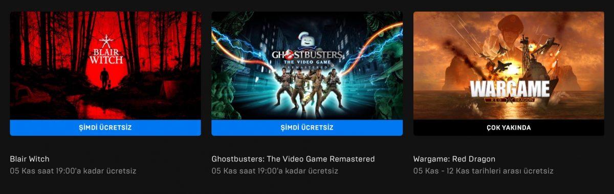 Epic Games'in Yeni Ücretsiz Oyunu Belli Oldu (05 Kasım)