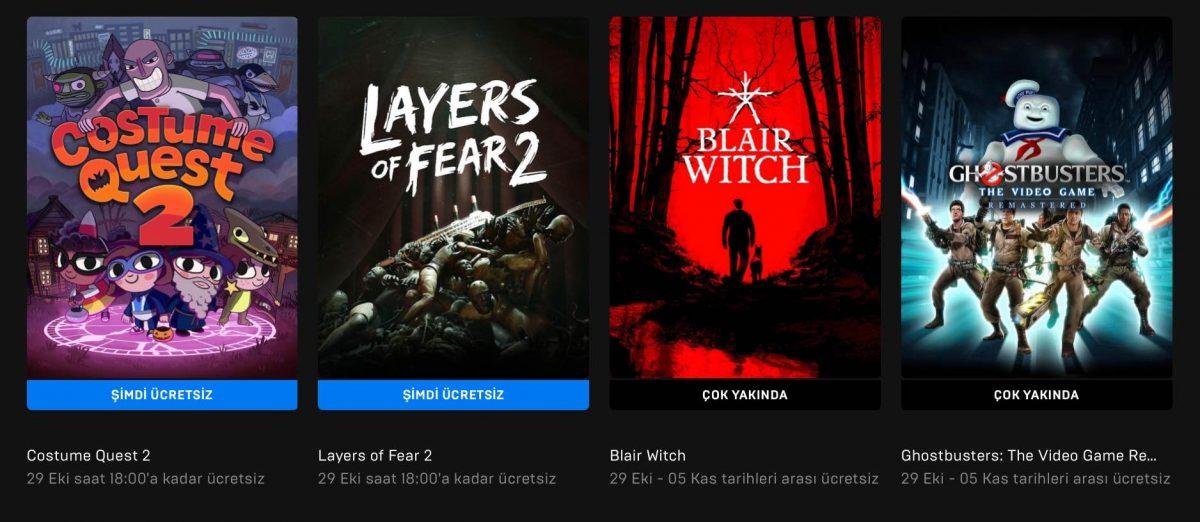 Epic Games'in Yeni Ücretsiz Oyunu (29 Ekim)
