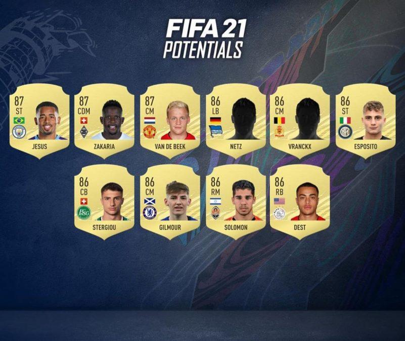 FIFA 21 En Yüksek Potansiyelli Kariyer Modu Oyuncuları-3