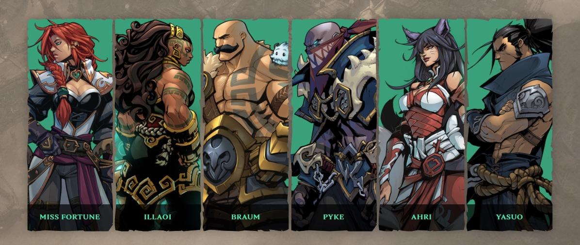 Ruined King Riot Games karakterler