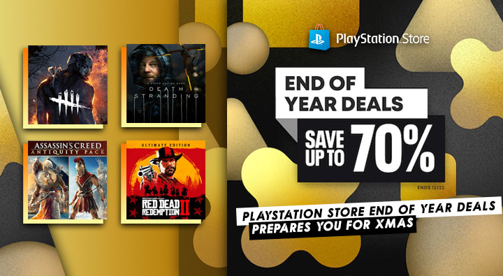 PlayStation Store'da Yıl Sonu İndirimleri Başladı! -1