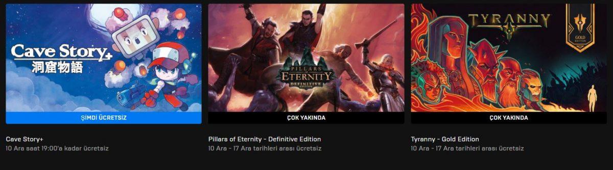 Epic Games'in Yeni Ücretsiz Oyunu Belli Oldu (10 Aralık)