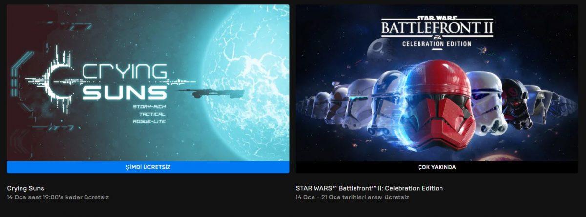 Epic Games'in Yeni Ücretsiz Oyunu Belli Oldu (14 Ocak)