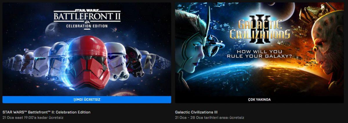 Epic Games'in Yeni Ücretsiz Oyunu Belli Oldu (21 Ocak)