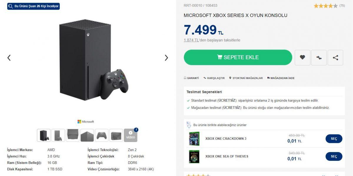 Xbox Series X Fiyatı Ne Kadar?