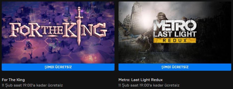 Epic Games'in Yeni Ücretsiz Oyunu Belli Oldu (04 Şubat)