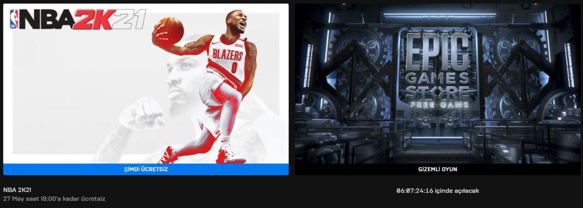 Epic Games'in Yeni Ücretsiz Oyunu Belli Oldu (20 Mayıs)