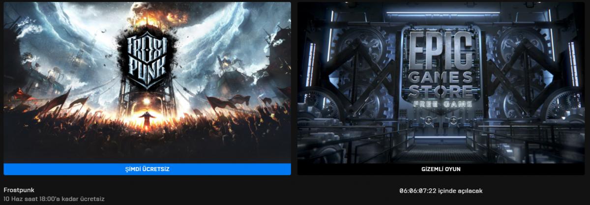 Epic Games'in Yeni Ücretsiz Oyunu Belli Oldu (03 Haziran)