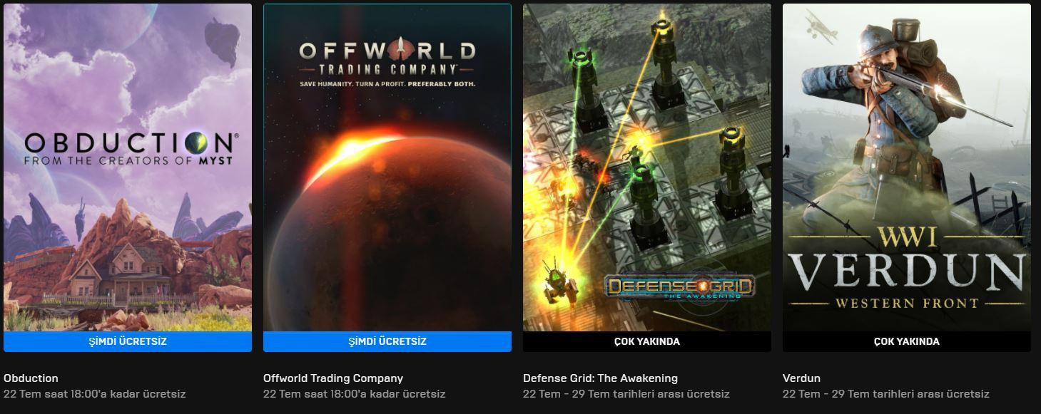 Epic Games'in Ücretsiz Oyunu Belli Oldu (15 Temmuz)