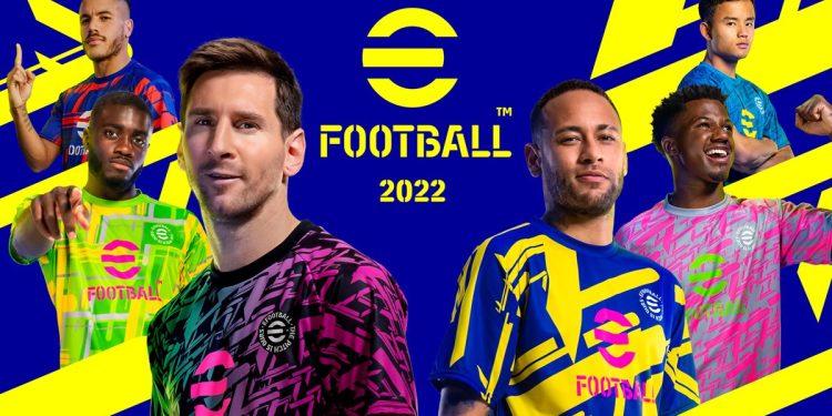 eFootball 2022 Ücretsiz Olarak Yayınlandı